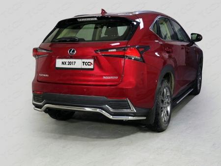 Lexus NX 200 2017-Защита задняя 42,4 мм